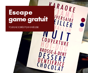 Escape game gratuit à imprimer